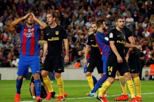 """Barcelona"" Ispanijos futbolo čempionate prarado taškus"