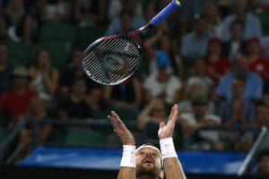 """Sunkiai įsivažiavęs A. Murray žengė į antrą """"Australian Open"""" turnyro etapą"""