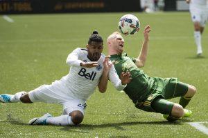 V. Andriuškevičius MLS rungtynėse atliko du rezultatyvius perdavimus
