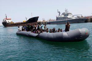Viduržemio jūroje per dvi dienas išgelbėta apie 6000 migrantų
