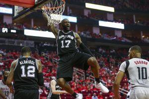 """NBA: """"Spurs"""" žengė į Vakarų konferencijos finalą"""