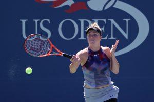 """US Open"": E. Svitolina startavo pergalingai"