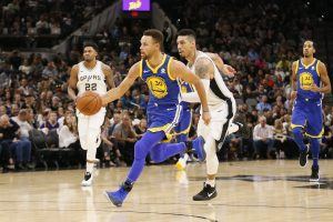 "NBA: ""Warriors"" nugalėjo ""Spurs"""