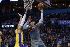 """NBA: ketvirta nesėkmė iš eilės – """"Thunder"""" vėl turi problemų"""