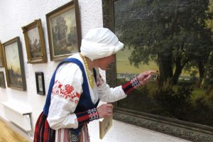 P. Domšaičio galerijoje – kultūros vakarai