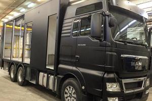 Dakaro ralyje B. Vanagą lydės įspūdingas serviso sunkvežimis