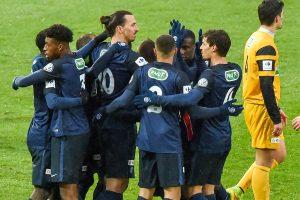 Prancūzijos futbolo taurės savininkas pateko į šešioliktfinalį