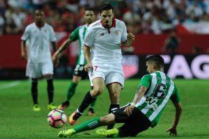 """Ispanijos futbolo čempionate – """"Sevilla"""" pergalė"""