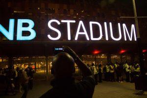 Stadione, kuriame vyko pasaulio futbolo čempionato finalas, žuvo du žmonės