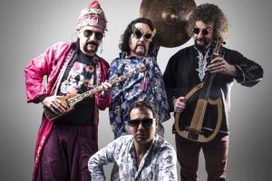 """Palangoje koncertuos populiariausia Turkijos alternatyvios muzikos grupė """"Baba Zula"""""""