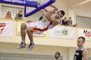 Geriausiu antrosios NKL savaitės krepšininku išrinktas A. Udras