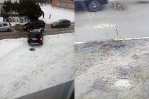 Klaipėdos mieste siautėja pažeidėjai