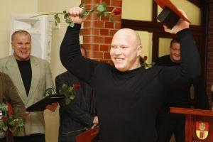 Geriausiojo KU sportininko vardą susigrąžino A. Didžbalis