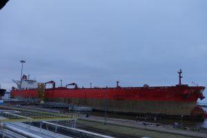 Klaipėdos uoste – rekordinio ilgio tanklaivis