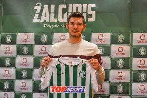 """""""Žalgirio"""" vartus saugos """"Juventus"""" priklausantis l. Branescu"""
