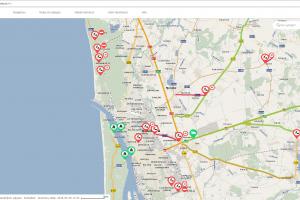 Informacija apie eismą Klaipėdoje – vos vienu paspaudimu