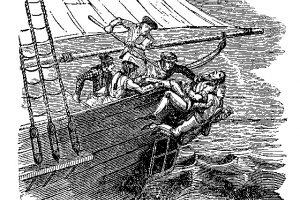 Suktas ir žiaurus jūrų piratas