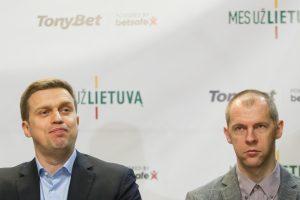 D. Adomaitis atskleidė rinktinės planus: R. Šiškauskas bus asistentas