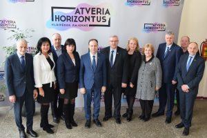 Klaipėdos rajone lankėsi sveikatos apsaugos ministras A. Veryga