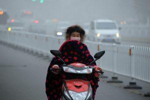 Kinijoje paskelbtas aukščiausio lygio perspėjimas dėl smogo