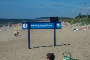 Malonė: moterų paplūdimyje atsiras tualetas