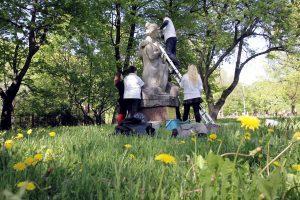 Skulptūrų parke atstatys istorinę tiesą