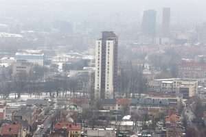 Oro užterštumui – didesnis dėmesys