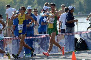 M. Žiūkas sportinio ėjimo varžybose Kinijoje užėmė aštuntą vietą