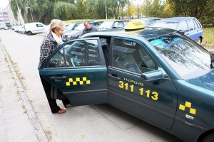 Važiavo taksi – susimokėjo baudą