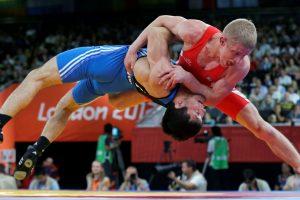 Imtynininkas E. Venckaitis išlydėtas į olimpines žaidynes