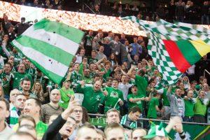 """""""Žalgiris"""" – viena pirmaujančių Eurolygos komandų pagal bilietų pardavimus"""