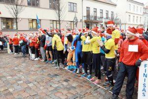 Vyks Kalėdų Senelių bėgimas