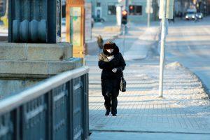 Pajūryje laikysis šaltukas