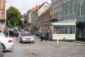 Taksi vežėjai nori Žvejų gatvės