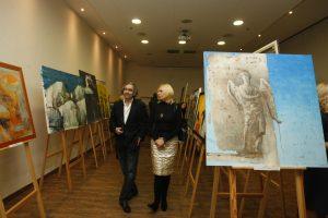 Ligoniukams paremti – meno darbų aukcionas
