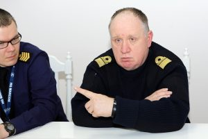 Keičiasi Lietuvos karinių jūrų pajėgų vadas
