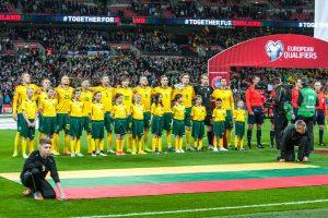 Lietuvos futbolo rinktinė išsaugojo 127–ą poziciją