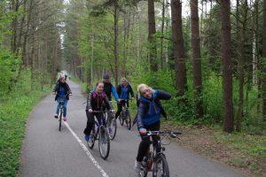 Kviečia minti dviračius už Klaipėdą