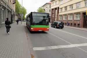 Manto gatvėje – eismo apribojimai