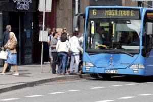 Autobusai kursuos rudens grafiku