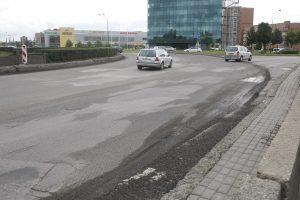 Kelio remonto darbai – ir Baltijos prospekte