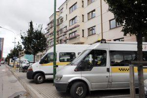 Į miestą laikinai sugrįš maršrutiniai taksi