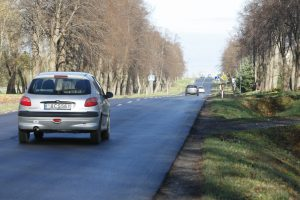 Gatvės remontas – beveik baigtas