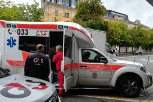 JAV pilietis Klaipėdoje sumušė greitosios medikus