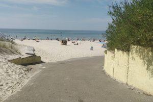 Atnaujins į paplūdimius vedančius takus