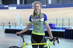 Dviratininkė O. Baleišytė tapo pasaulio jaunių rekordininke
