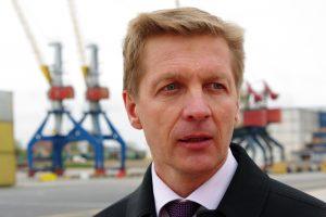 Klaipėdos uosto vadovas dalyvaus uostamiesčio mero rinkimuose