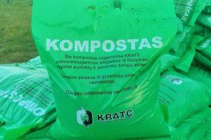 Klaipėdiečiams dovanojamas kompostas
