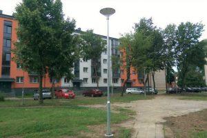 Šviestuvai statomi dar prie 46 daugiabučių namų