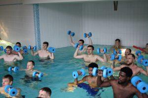 """""""Neptūno"""" krepšininkai apsilankė poilsio ir sveikatinimo komplekse"""
